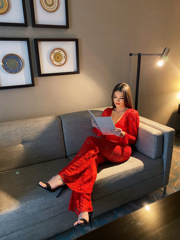 Amore-Jumpsuit-RED-seated-2
